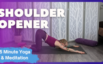 Shoulder Opener | 15 Minute Yoga & Meditation