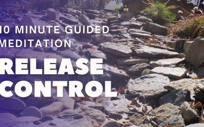 10 Minute Guided Meditation to Release Control